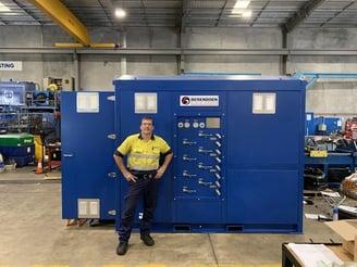 custom hydraulic power unit