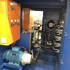 Hydraulic power unit HPU design